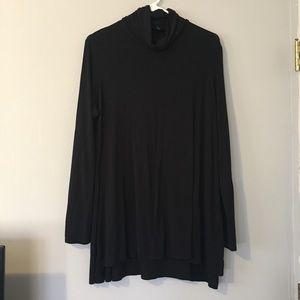 [Mossimo] Black Turtleneck/Cowlneck